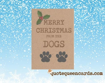 Edible Christmas Cards For Dogs Uk