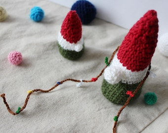 Crochet Italian Gnomes / Gnome dolls / Gift for Her / Gift for Him/ Office Decor / Home Decor by OK (SET OF 2)