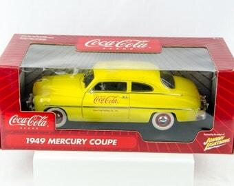 Johnny Lightning Coca Cola 1949 Mercury Coupe 1/18 Scale Diecast Car