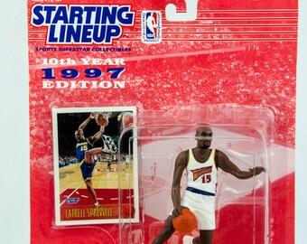 Starting Lineup 1997 NBA Latrell Sprewell Action Figure Golden State Warriors