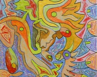outsider art beautiful colors