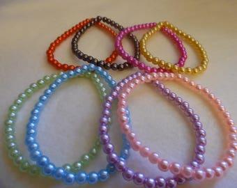 """8"""" stretchy bracelets"""