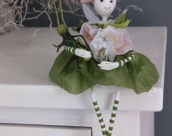Doll Fairy OOAK Art doll Home decor