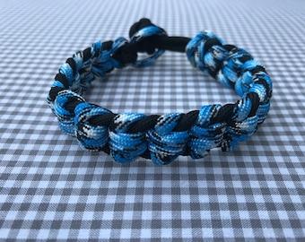 Sturdy handmade macrame mens bracelet