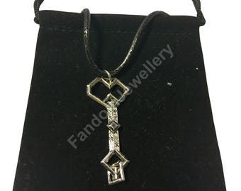Thorin Oakenshield Necklace Pendant Key to Erebor LOTR Lord of the Rings