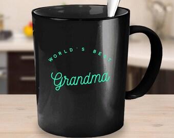 Worlds Best Grandma Mug, Grandma Mug, pregnancy reveal, Christmas gift, mug for mom, gift for Grandma, Grandmother gift, Grandma Coffee mug
