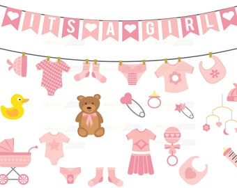 girl baby shower etsy