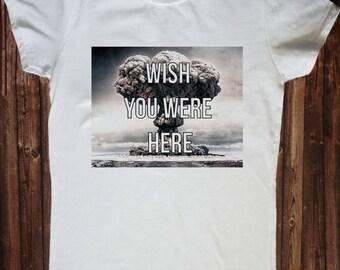 Wish you were here Atomic Explosion shirt, Girl power Tank, Girl Power Tshirt, Feminism Tee Girl Power Shirt, Girls shirt top, Tumblr shirt