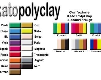Kato Polyclay Pats 56gr 354gr 4x28gr-KatoLiquid-Sep