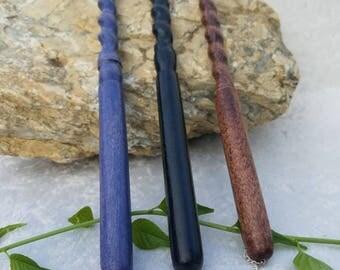 Spiral magic wand