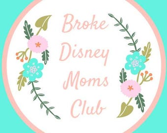Broke disney moms club pre order