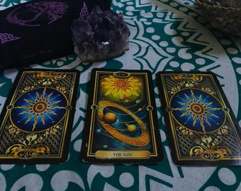 3 Card Reading: Celestial Tarot Deck