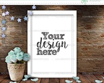 Frame Mockup, Poster Mockup, Styled Frame, Frame Stock Photo, Empty Frame Mockup, Frame Mock Up, White Frame Mockup, Styled Stock Photografy