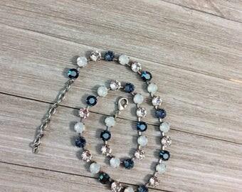 "Genuine Swarovski Crystal Necklace, ""Hopeful"""