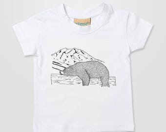 Cubs kids shirt etsy bear grizzly teddy black brown cub momma papa fun kids baby home cute xmas gift t publicscrutiny Gallery