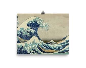 On Sale! Great Wave of Kanagawa, Hokusai - Poster
