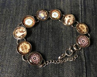 Beautiful Glass Globe Bracelet!!