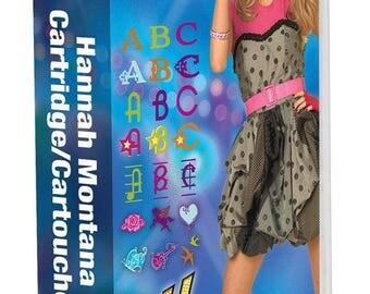 Disney Hannah Montana Cricut Cartridge