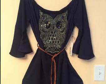 Beautiful Navy Blue Size L Dress