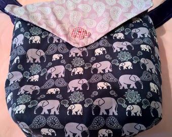 Reversible Elephant Bag
