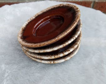 Ceramic Saucers (Set of 4)