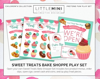 Sweet Treats Bake Shoppe | Pretend Play Set