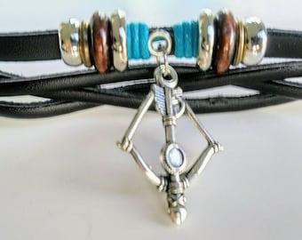 Aim True Bow & Arrow Bracelet