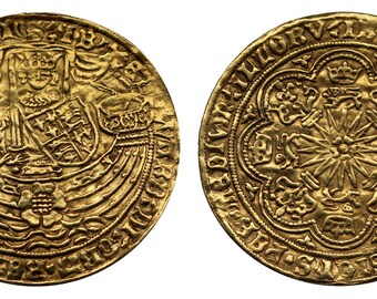 Edward IV Ryal 1461-85 England gold coin
