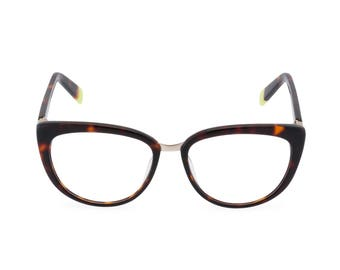 1960s 70s vintage style MOD Tortoiseshell designer reading glasses 'Simone', diamante trim,  Rx ready or made to your own Rx