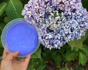 Fluffy purple slime no borax