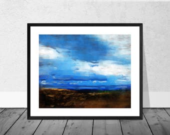 Landscape Art Print, Scotland Art Print, Landscape Scotland, Fine Art Print, Home Décor, Giclee Print, Wallart, Scottish Highlands