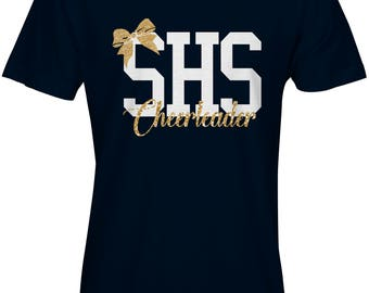 CHILD SIZED SHS Cheer Glitter Tshirt