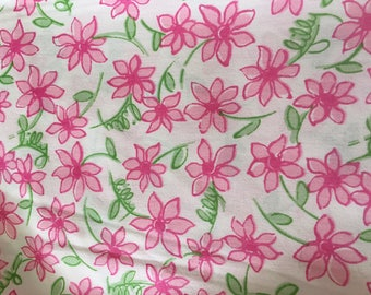 Lilly Pulitzer Lazy Daisy Printed Fabric, 1 of 3
