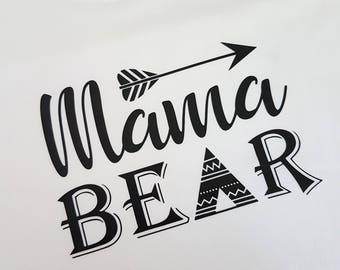 Mama Bear Shirt, Mom Shirt, Family Bear Shirts, Mama Bear, Sister Bear Shirt, Papa Bear Shirt, Brother Bear Shirt, Bear Family Shirt