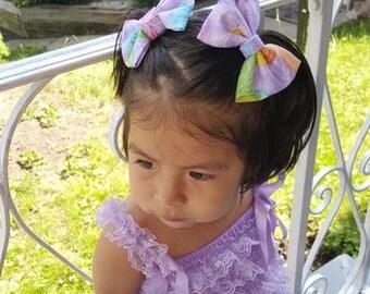 Glitter butterfly bow
