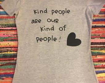 Kind people T shirt