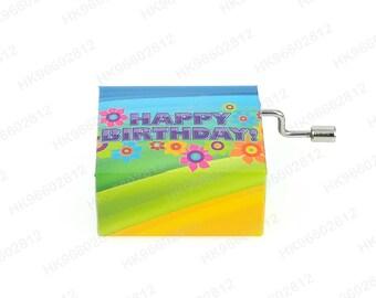 "Music Box ""Happy Birthday To You"" Refrigerator Magnet [SSRM-0007]"