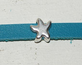 Passing Starfish leather 5 mm, set of 5
