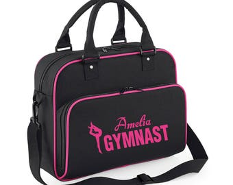 iLeisure Girls Personalised Name Single Gymnst Kit Bag.