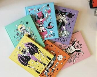 Illustrated books.