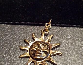 Golden Sun Velvet choker