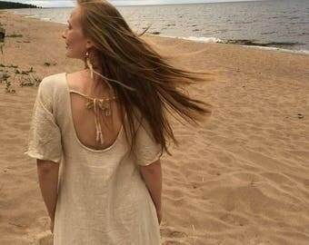 Khadi cotton long dress