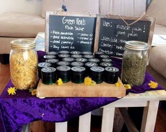 Natural Herbal Pain Salve