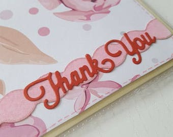 Handmade Card - Thank You