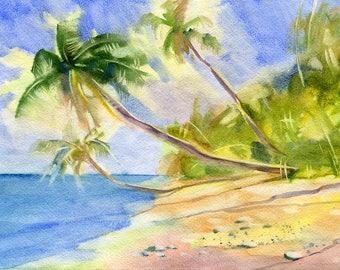Landscape Watercolour Painting Q260