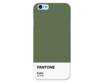 Pantone NY Spring Collection 2017 | Kale Custom Phone Case for iPhone, Google Pixel, Samsung Galaxy and more