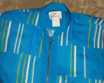 Vintage Women's Men's Size M Runner Sports Jacket