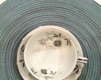 Noritake Rosamor china has cup and saucer