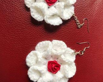 crochet earring # earring