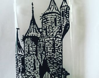 Castle design on iPhone6s/6g case